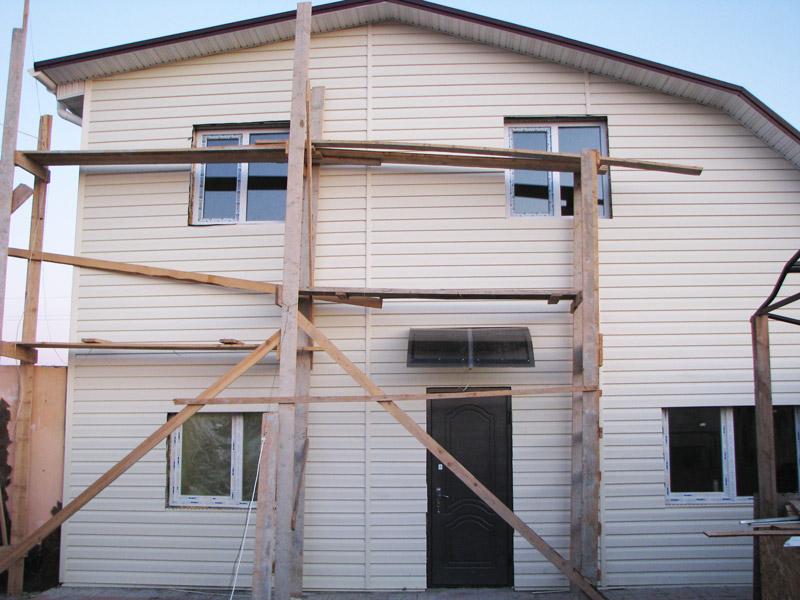Утепление наружных стен вентилируемого фасада